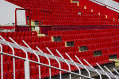 Seat stadium Stock Image