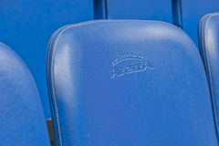 Seat at the Stadium Royalty Free Stock Image