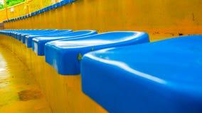 Seat stadium. At the neat Royalty Free Stock Photo