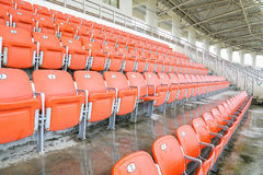 Seat in stadium Royalty Free Stock Image