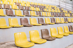 Seat in stadium Royalty Free Stock Images