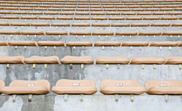Seat in stadium Royalty Free Stock Photo