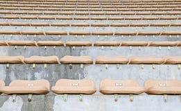 Seat in stadium Royalty Free Stock Photo