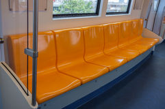 Seat in Train Royalty Free Stock Image