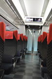 Seat at train. The image of seat at train Stock Image