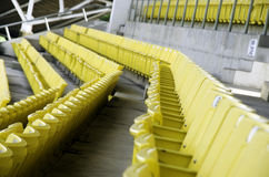 Seat trybuna. Obraz Royalty Free