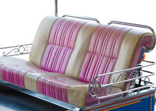 The seat of Tuk Tuk car in the Thailand Royalty Free Stock Image