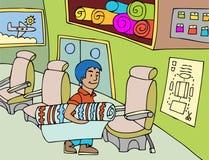 Seat Upholsterer Stock Image