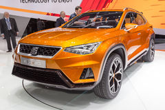 2015 Seat 20V20 Concept. Geneva, Switzerland - March 4, 2015: 2015 Seat 20V20 Concept presented on the 85th International Geneva Motor Show Stock Photo