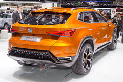 2015 Seat 20V20 Concept. Geneva, Switzerland - March 4, 2015: 2015 Seat 20V20 Concept presented on the 85th International Geneva Motor Show Stock Image