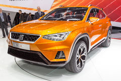 2015 Seat 20V20 Concept. Geneva, Switzerland - March 4, 2015: 2015 Seat 20V20 Concept presented on the 85th International Geneva Motor Show Stock Photography