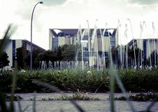 Seat van de Kanselier van Duitsland - genoemd wasmachine royalty-vrije stock foto's