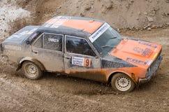 Seat 131, voiture de rassemblement de vintage Images libres de droits
