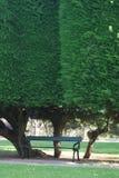 Seat voor overpeinzing Stock Fotografie