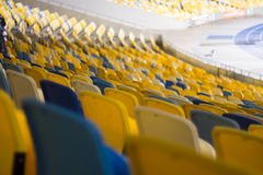 Seat for watch some sport o Royalty Free Stock Photos