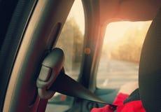 Seatbelt Royalty Free Stock Photography