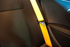 Seatbelts Royalty Free Stock Photos