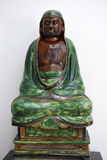 Seated Bodhidharma, ming dynasty, Victoria and Albert Museum, London Stock Image