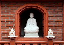 Seated buddha Royalty Free Stock Images