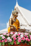 Seated Buddha image Stock Image