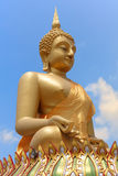 Seated buddha image Stock Photo