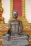 A seated Buddha image Stock Image