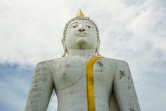 Seated Buddha image Stock Photo