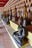 Seated Buddha image. royalty free stock photo