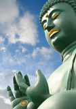 Seated Buddha at Toganji Temple Nagoya Stock Image