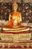 Golden buddha statue bangkok thailand Stock Image