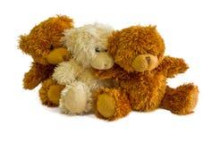 Seated teddy bears Stock Image