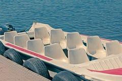 10 Seater-Snelheidsboot Stock Foto