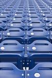 Seating стадиона Стоковая Фотография