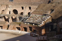 Seating at colosseum Stock Image