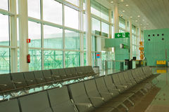 Seating lounge in airport Royalty Free Stock Images