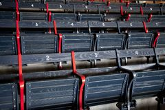 Seating rows Stock Image