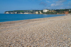 Seaton beach Devon England Royalty Free Stock Image