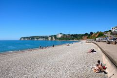Seaton beach. Stock Images