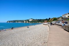 Seaton beach. Royalty Free Stock Photography
