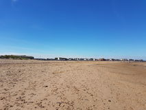 Seaton Carew beach. Seaton beach in summer Royalty Free Stock Photos