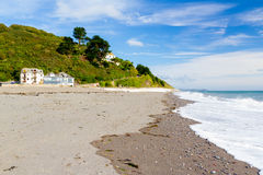 Seaton Cornwall England UK. Beach at Seaton South East Cornwall England UK Europe Royalty Free Stock Photo