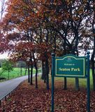 Seaton Park. In Aberdeen Stock Photos