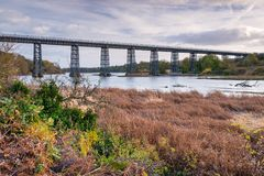 Seaton Railway Viaduct norte Imagem de Stock