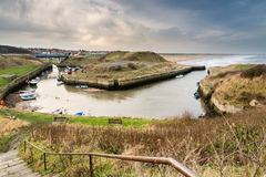 Seaton Sluice Harbour Stock Photography