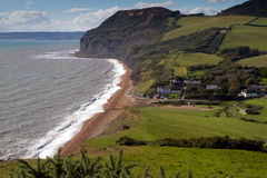 Seatown beach in Dorset Royalty Free Stock Image