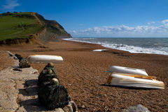 Seatown beach in Dorset Stock Images