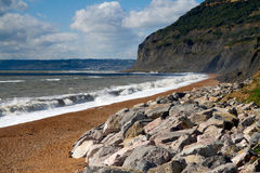 Seatown beach in Dorset Stock Photo