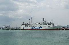 Seatran ferry Royalty Free Stock Image