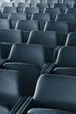 Seats. Empty theater (conference hall, classroom) seats Royalty Free Stock Photography