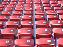Seats. Fenway Park seats, Boston Stock Images